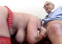 Big titted cocksucking slut